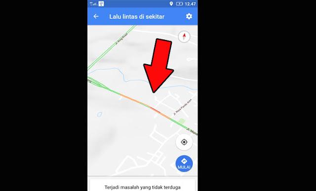 Cara Mengetahui Jalan Macet Menggunakan Google Maps di HP Android
