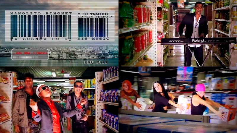 Manolito Simonet y su Trabuco - ¨La cuenta no da¨ - Videoclip - Dirección: Rudy Mora - Orlando Cruzata. Portal del Vídeo Clip Cubano