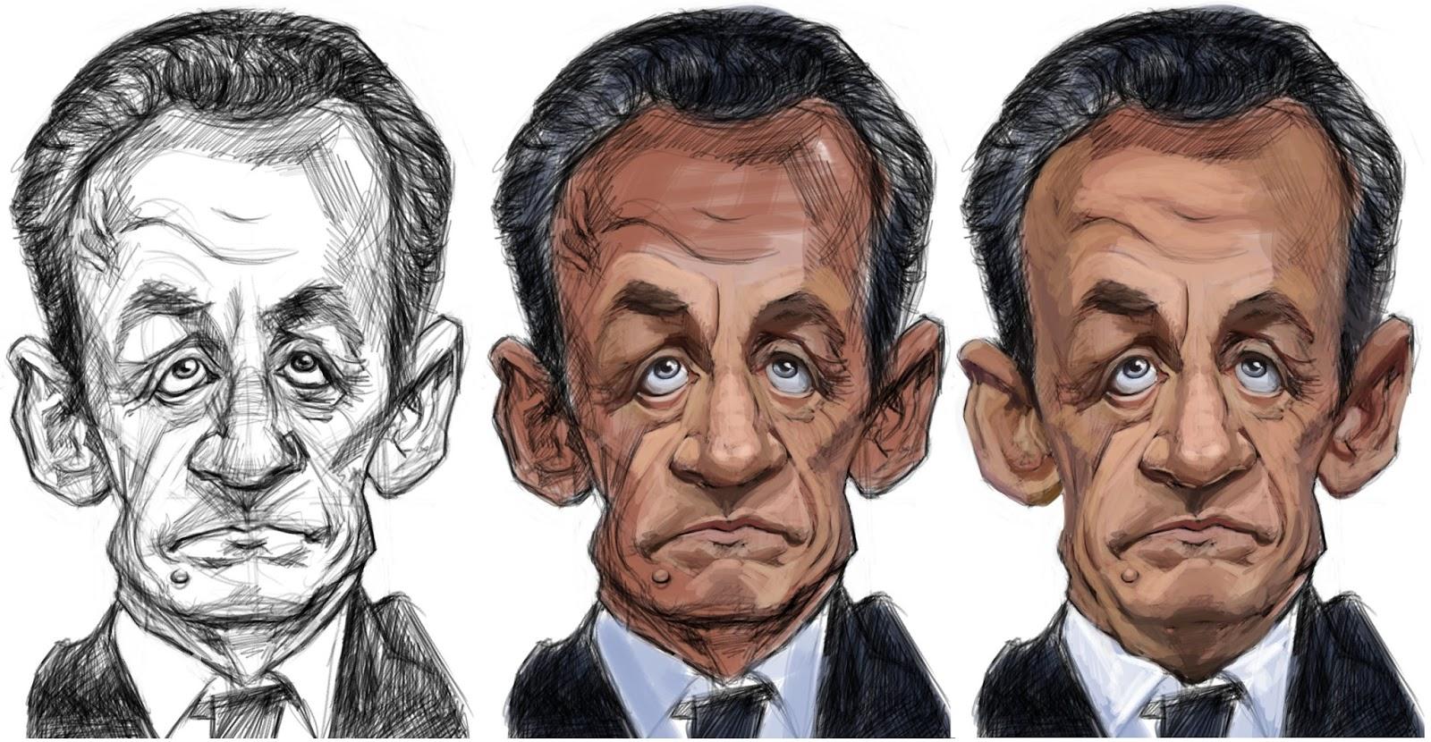 """Résultat de recherche d'images pour """"caricature de sarkozy"""""""