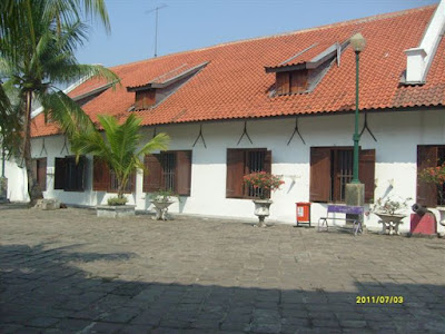 Bangunan Museum Bahari Jakarta
