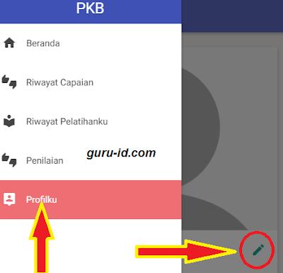 gambar cara edit profil sim pkb cetak kartu