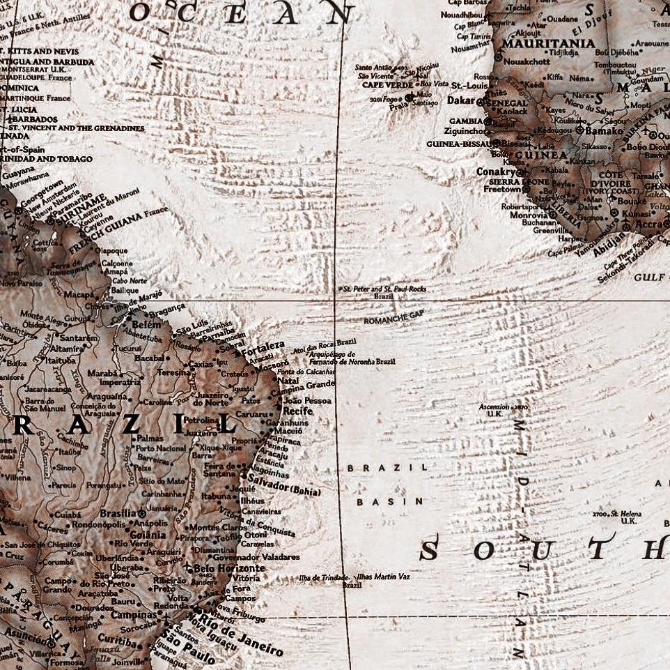 mapa mundi atual antigo