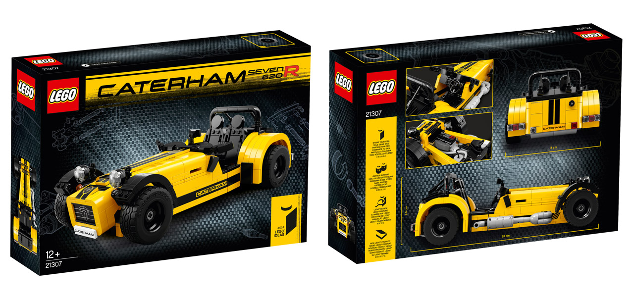 lego ideas 21307 Caterham Seven 620R