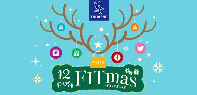12 Days of FitMas Sweepstakes