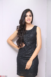 Simran Chowdary Model in Beautiful Black Dress at FBB Miss India 2017 finalists at Telangana auditions (14).JPG