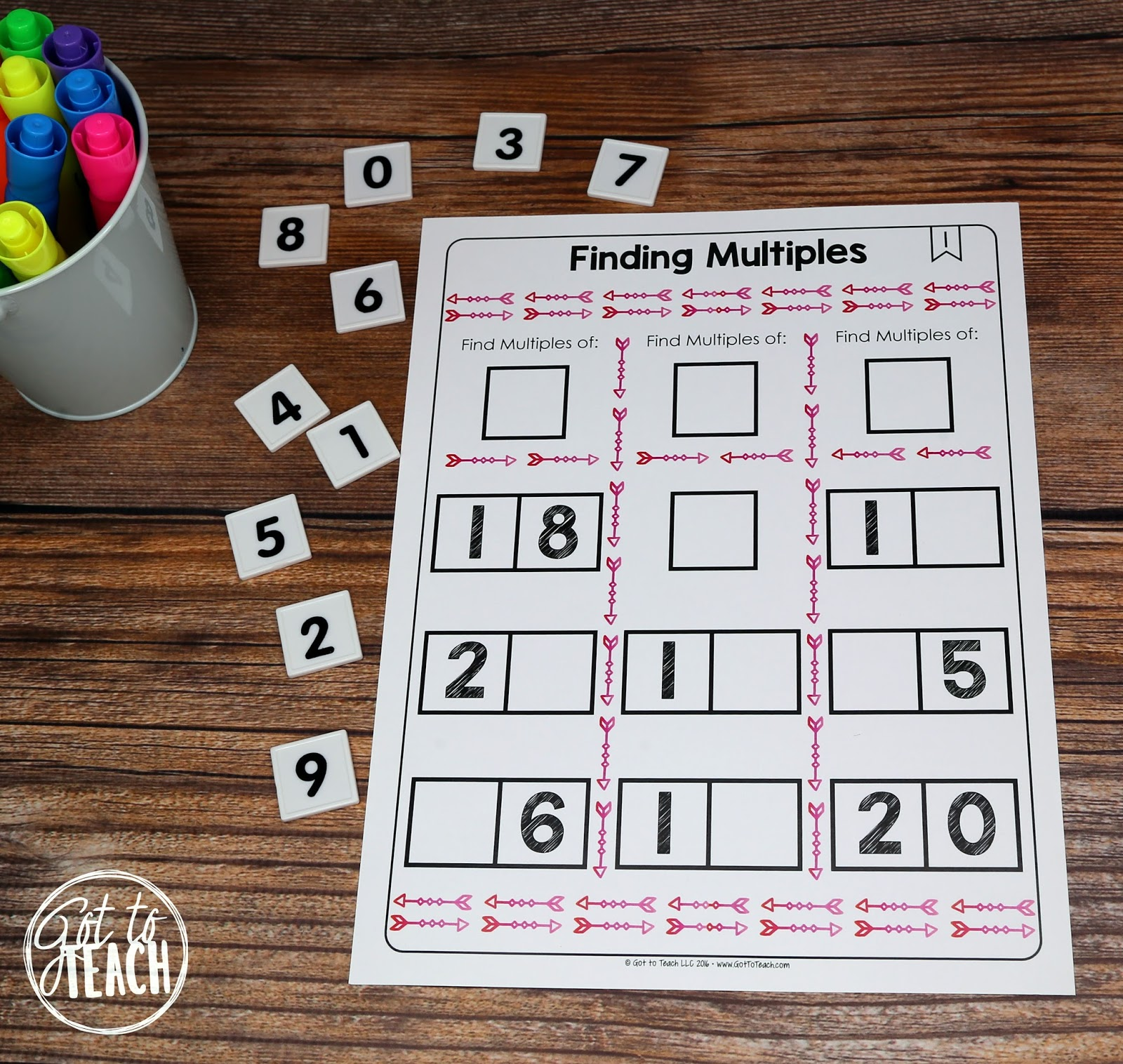 Make My Own Multiplication Worksheet