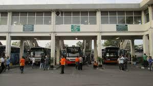Bungurasih Bus Station Surabaya