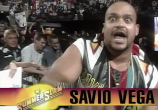 WWF / WWE SUMMERSLAM 1996 - Savio Vega faced Owen Hart in the opening match