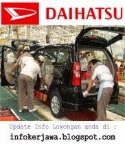 Lowongan Kerja PT Astra Daihatsu Motor (ADM)