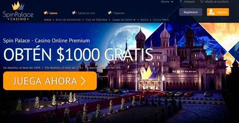 Spin Palace Online Casino Reclama tu lucrativo bono de jugador nuevo