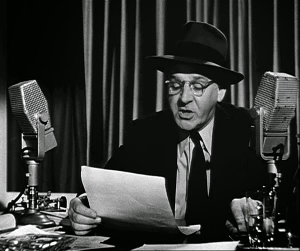 Walter Winchell on air