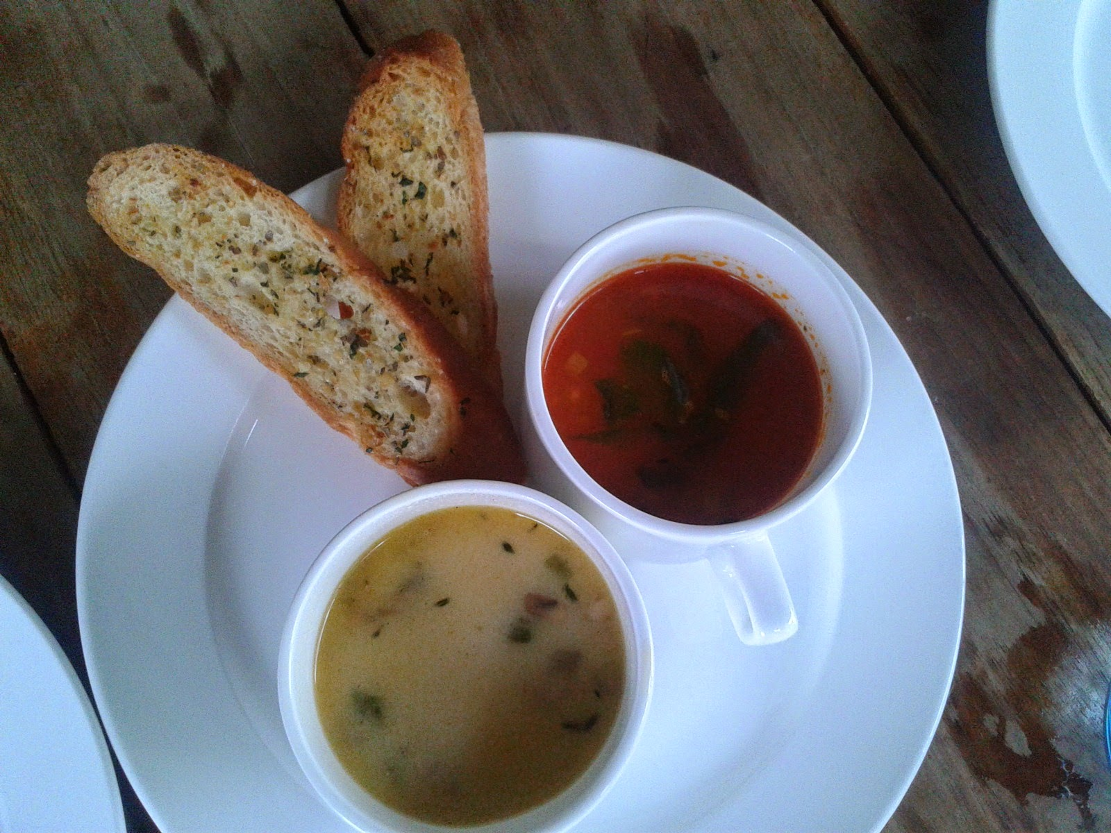 Foodaholix Olive Bistro Hyderabad monsoon menu soup sampler