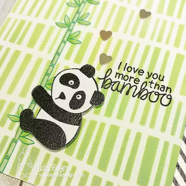 Newton's Nook Designs Playful Pandas Set - Naki Rager