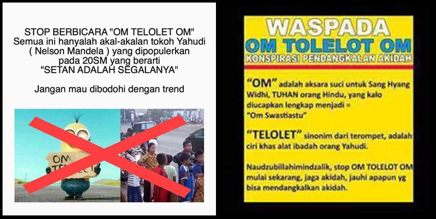 Arti Om Telolet Om Setan adalah Segalanya dan Pendangkalan Aqidah adalah Hoax