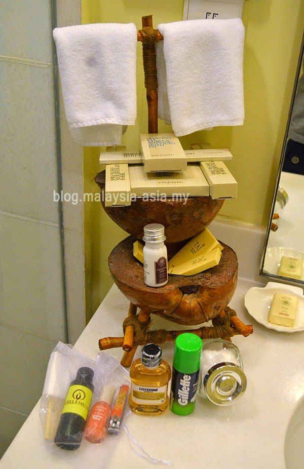Vivanta Rebak Bathroom Amenities