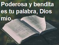 Predicas cristianas escritas: El poder de la palabra de Dios.