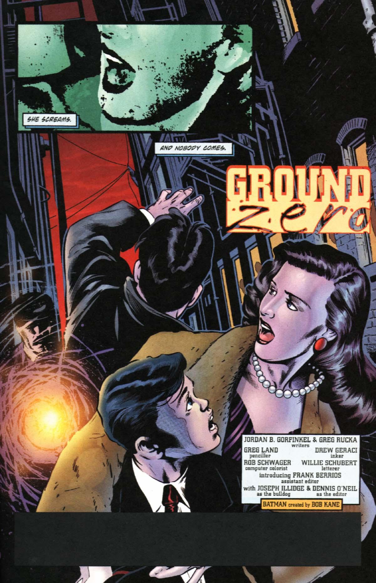 Read online Batman: No Man's Land comic -  Issue #0 - 2