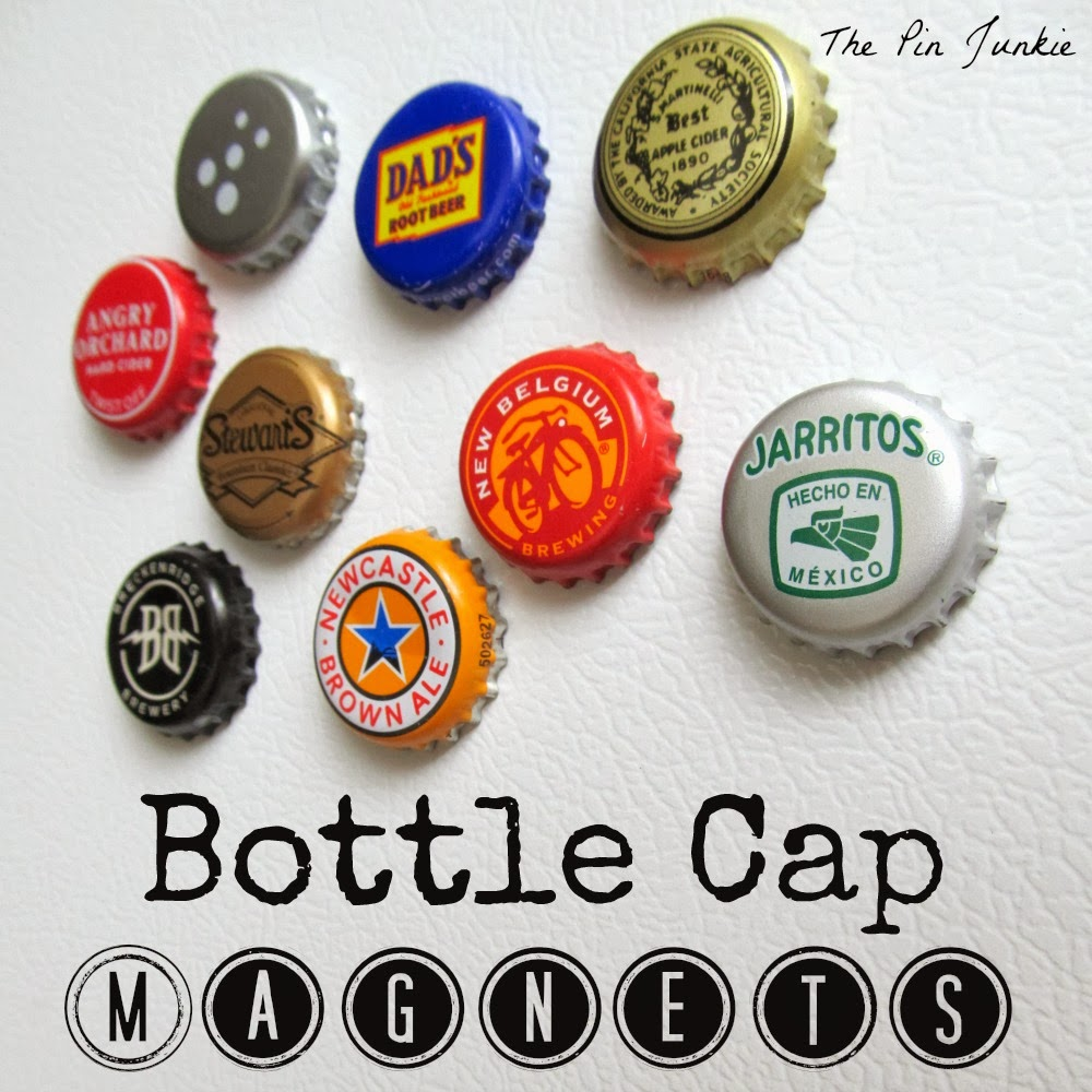 bottle-cap-magnets diy