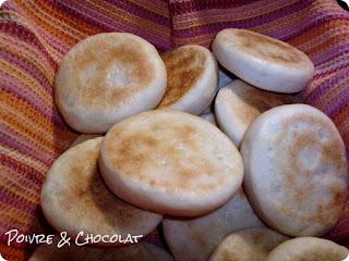 Batbouts - les petits pains marocains