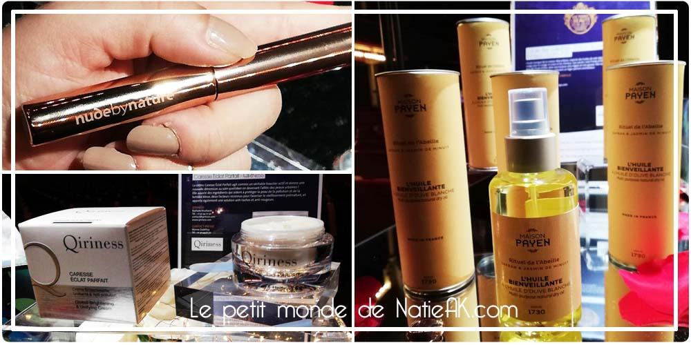 Nude by nature, Qirinesse et huile multi usage Maison Payen