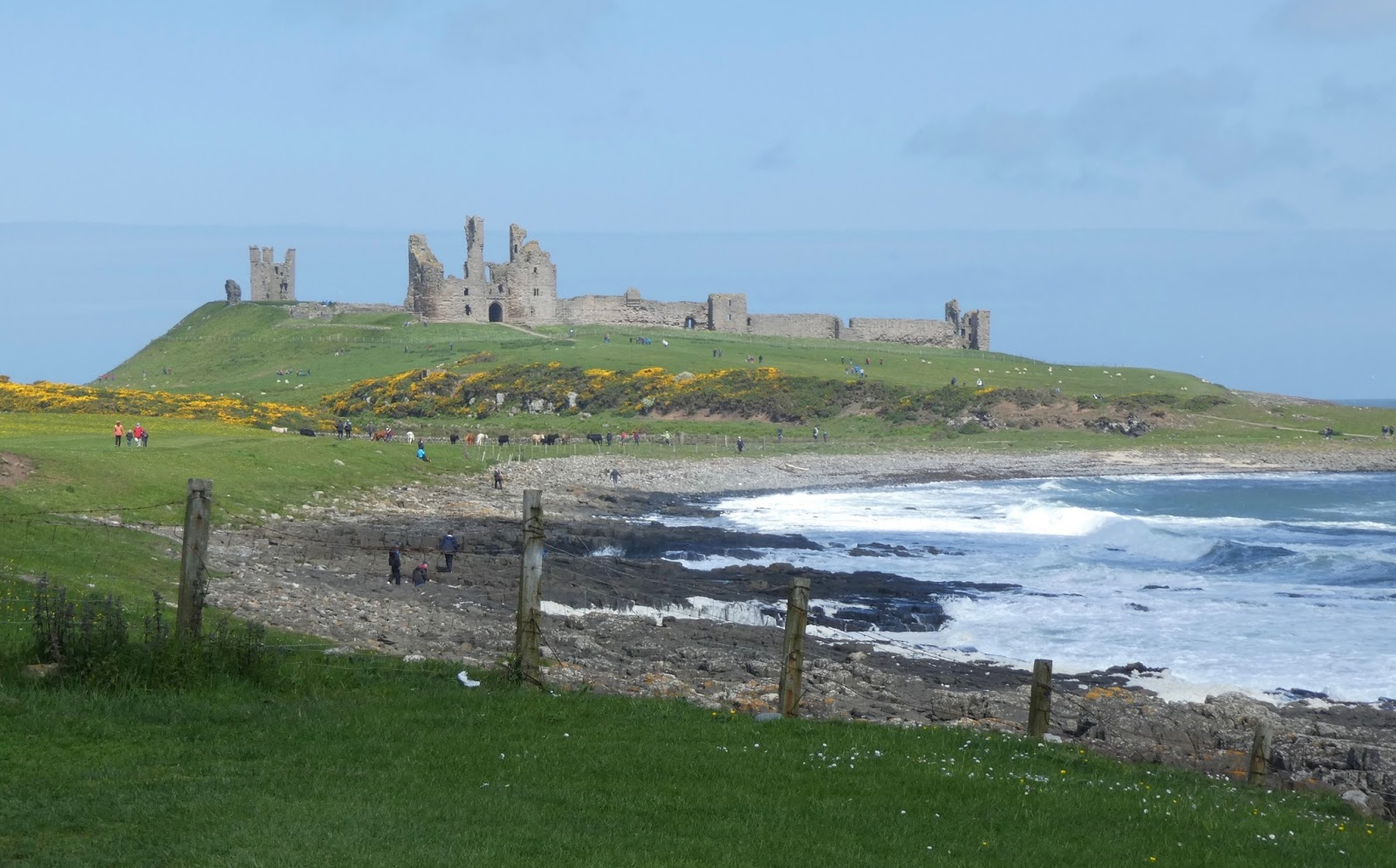 Holiday Ideas for Families with Tweens -  Dunstanburgh Castle walk
