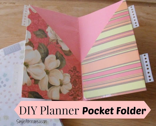 How To Make Your Own Planner Pocket Folders