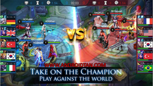 Free Download Mobile Legends: Bang bang Mod Apk v1.1.54.1341 (Radar Map Mod) Full Terbaru 2017