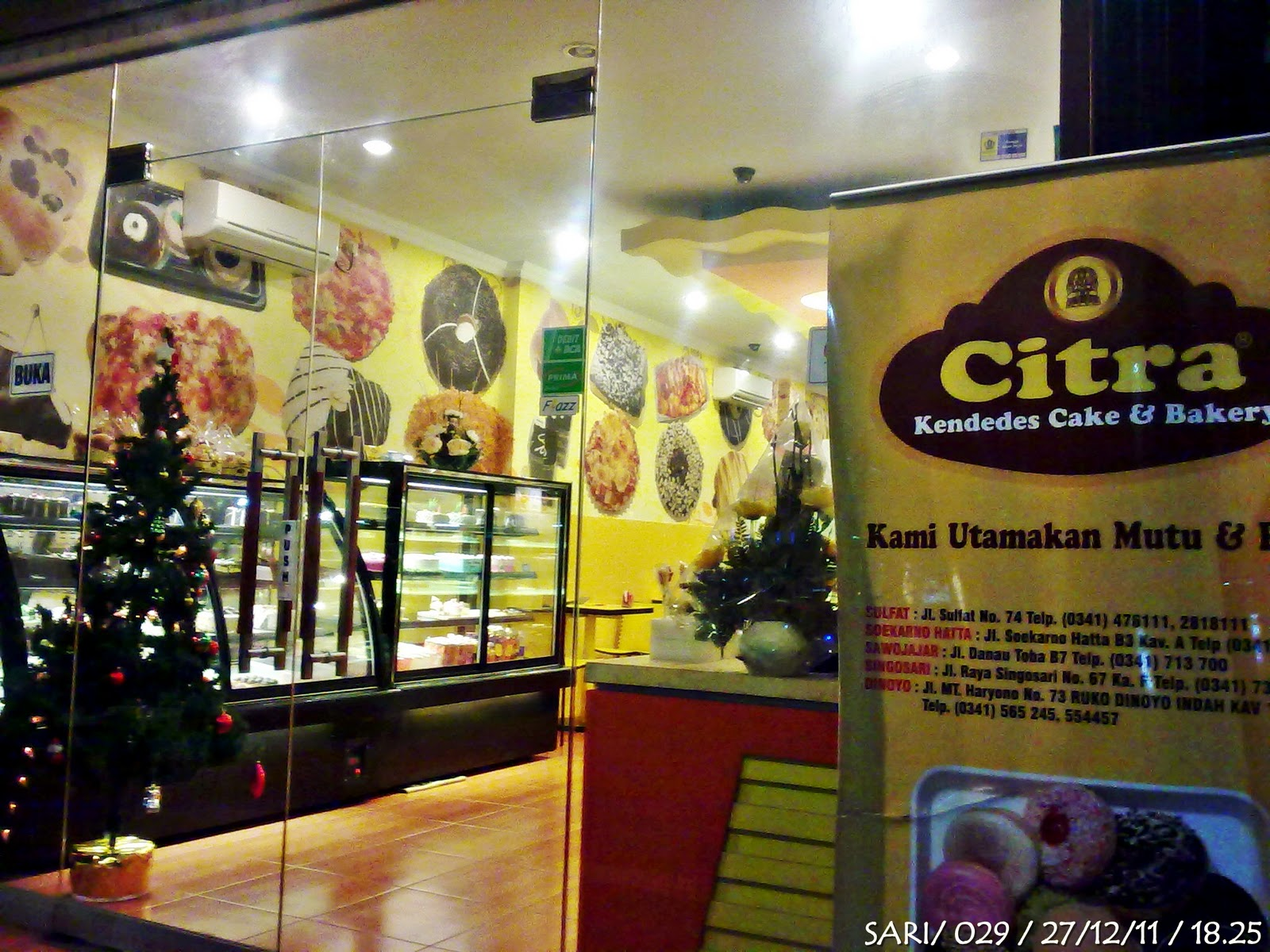 Kue kue unyu di citra kendedes cake and bakery