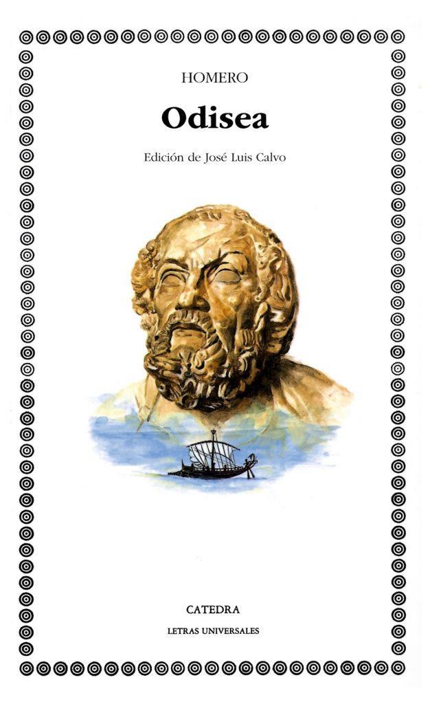 "Odisea – Homero ""Edición de José Luis Calvo"""