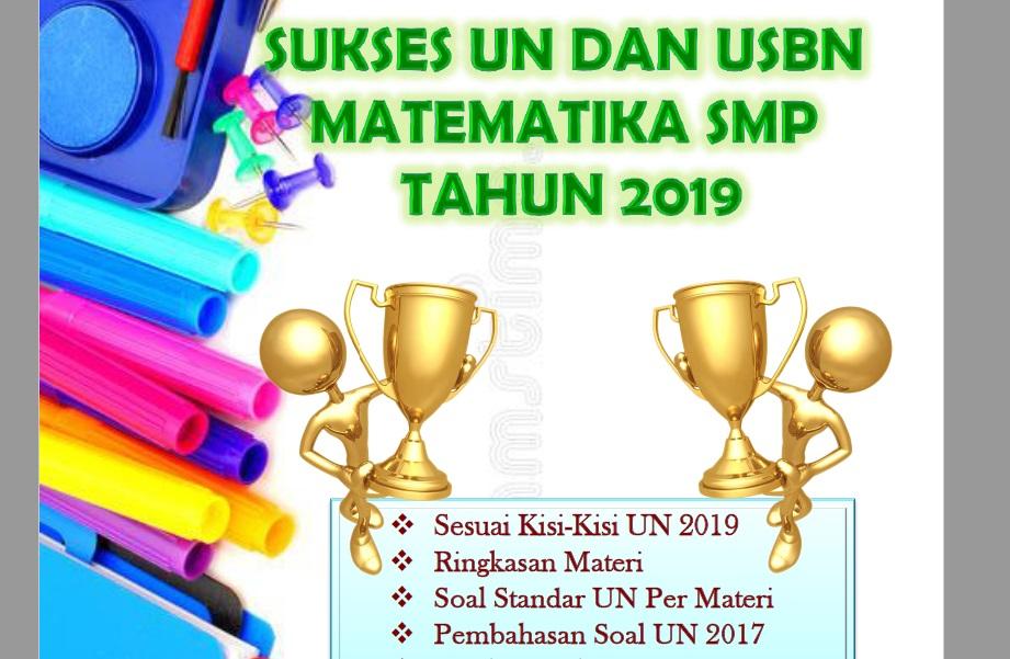 Sukses UN dan USBN Matematika SMP