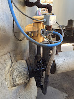 kinetrol actuator on asphalt valve
