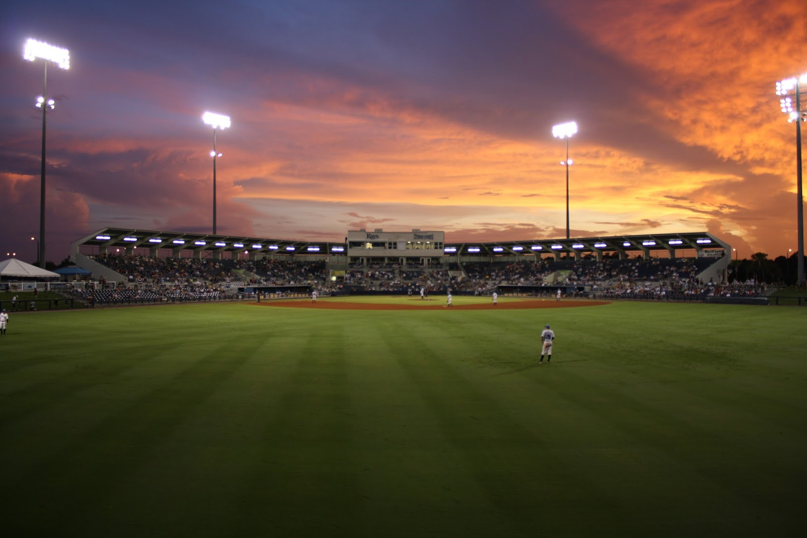 Photo of the Day: Sunset over the Ballpark | Donten ...