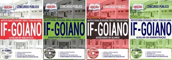 Apostila concurso IF Goiano 2017