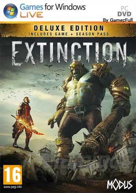 Descargar Extinction pc full español mega y google drive.