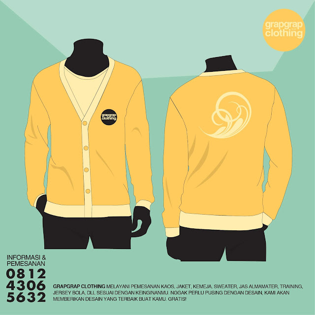 Beking Sweater / Jacket Murah di Manado Model Cardigan