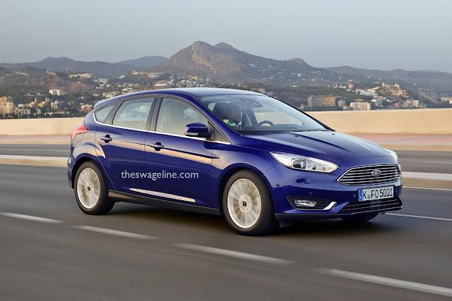 Ford Focus with new badge location