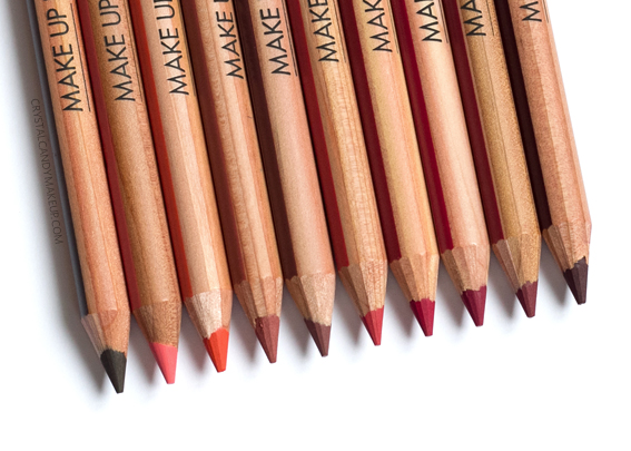 Make Up For Ever Artist Color Pencils MUFE Review 612 700 702 706 708 710 712 714 716 718