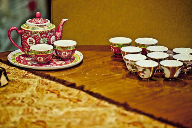 Wei Jien & Sue Lynn's Wedding: Wedding Tea Set