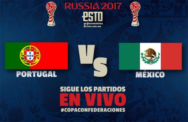 Ver Partido Portugal vs Mexico EN VIVO Gratis Por Internet Hoy 02/07/2017