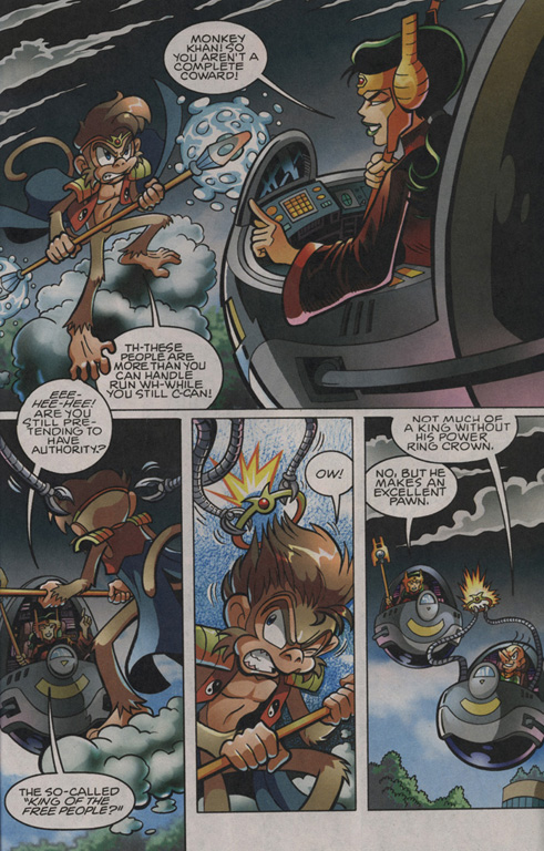 Read online Sonic The Hedgehog comic -  Issue #203 - 16