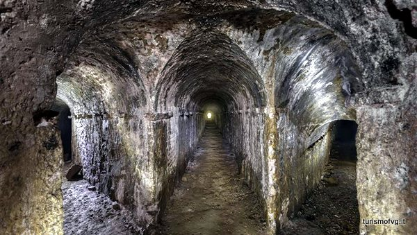 Túneles subterráneos (Palmanova, Italia)