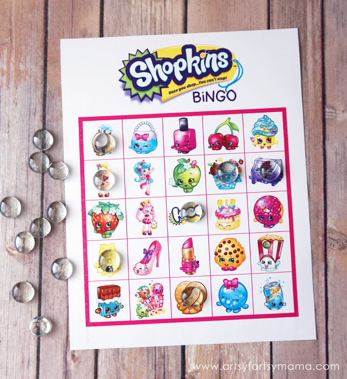 picture regarding Printable Shopkins Pictures identify Cost-free Printable Shopkins Bingo artsy-fartsy mama