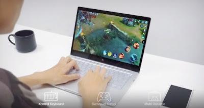 game android digunakan di laptop