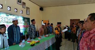 Bupati Lantik Panitia MTQ Kabupaten  ke 49