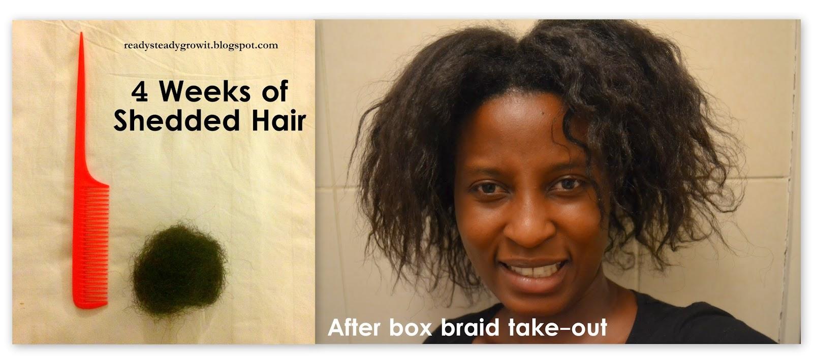Recap on my box braids - Ready, Steady, Grow It
