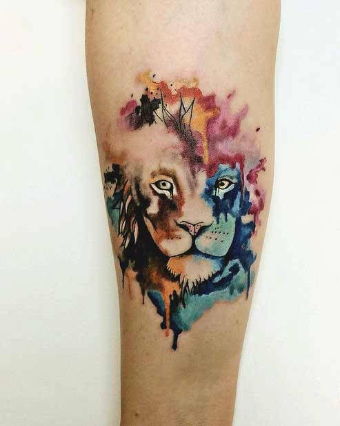 643e77facbdcd 45 Best Leo Tattoos Designs & Ideas For Men And Women with meanings
