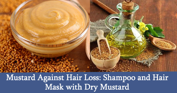 Mustard Against Hair Loss: Shampoo and Hair Mask with Dry Mustard