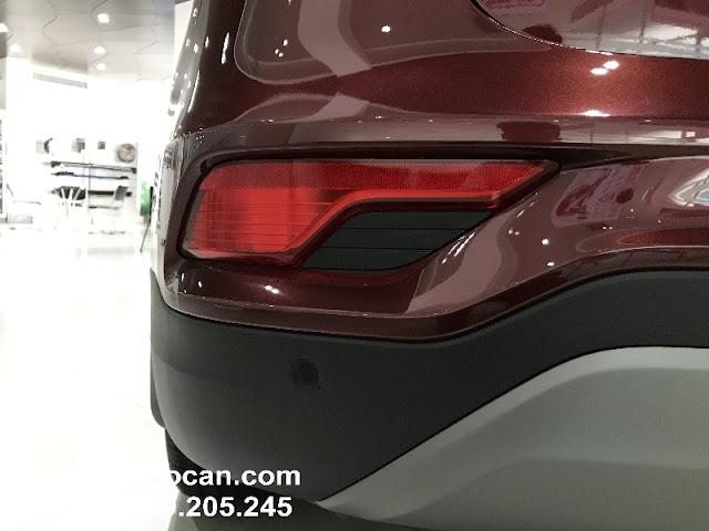 Santafe 2017 màu đỏ mận Hyundai Santafe 2017 màu đỏ mận | Đỏ Bordeaux mới IMG 2205