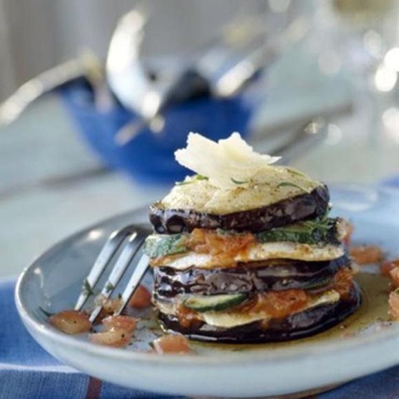 Lasagnes D'Aubergines Et Sardines Fraîches