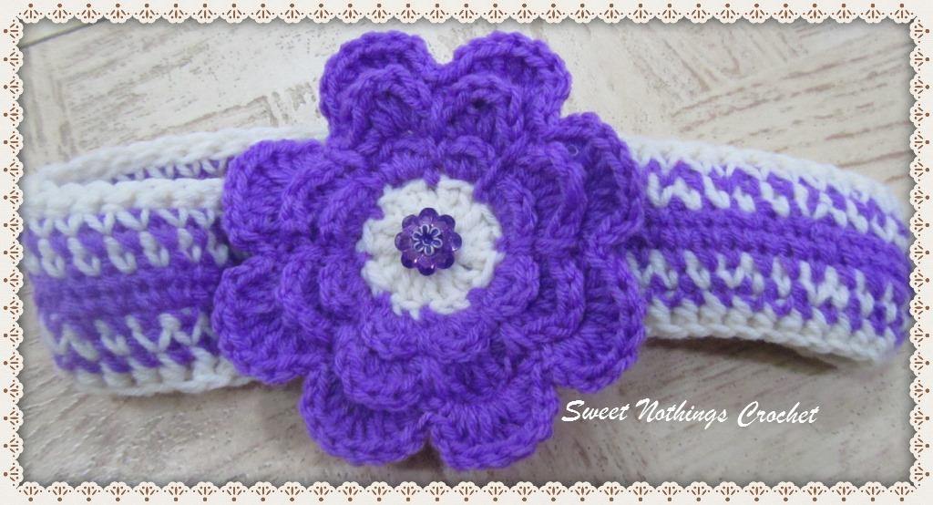 Sweet Nothings Crochet Two Oh So Cute Headbands